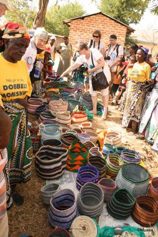 Baskets from Kanini Woman Group